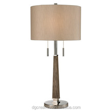 Transitional Jorgensen wood shading Table Lamp