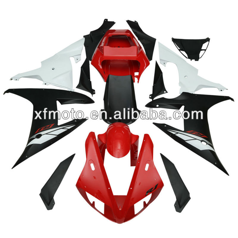 For Yamaha YZFR1 YZF-<strong>R1</strong> YZF <strong>R1</strong> 2002-2003 Bodywork ABS Plastic Fairing kit F09