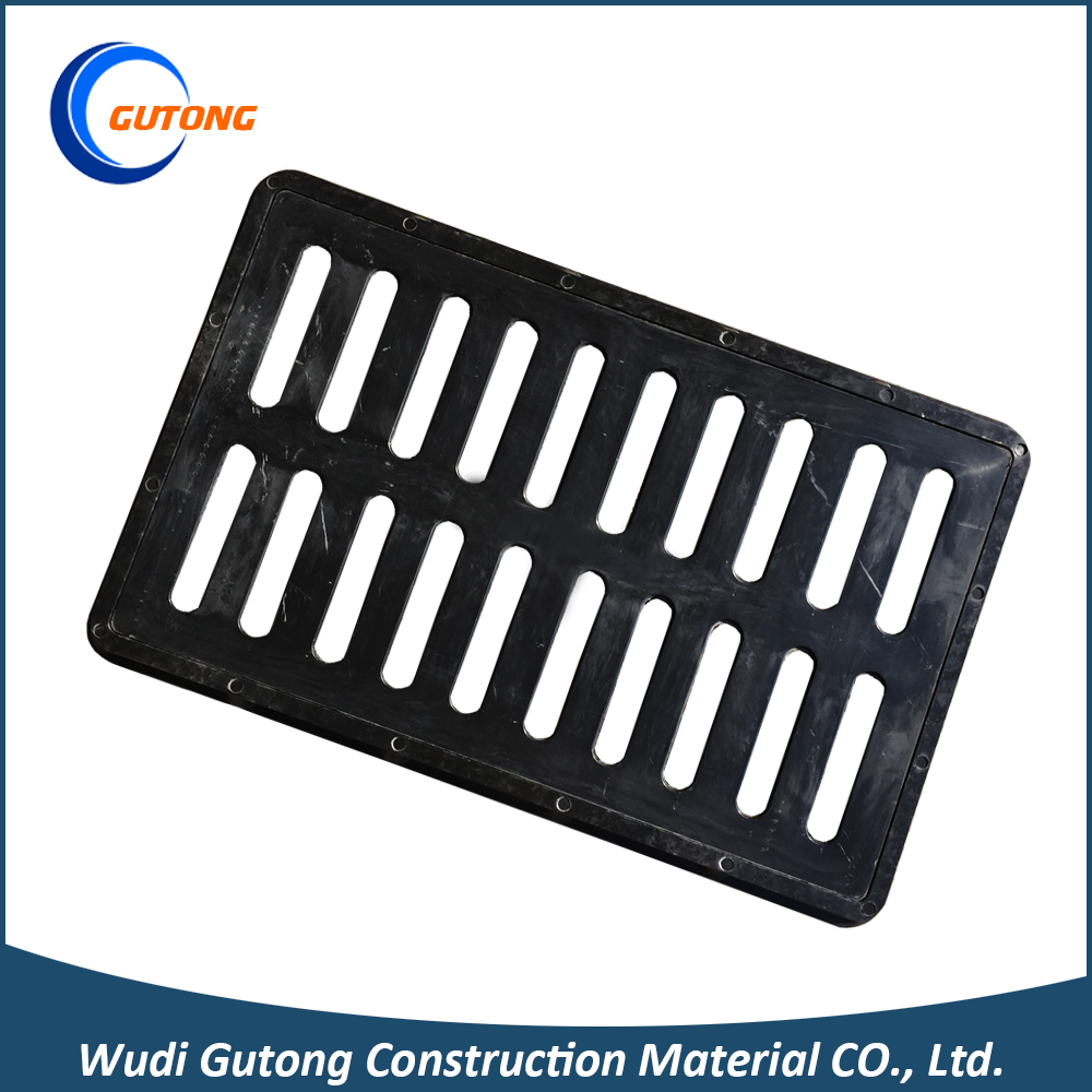 Modern design plastic pvc gratings rain shower drain cover