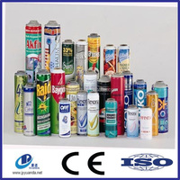 High quality refillable empty spray paint aerosol can