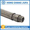 Flange connection ss 304 flexible braided metal corrugted hose