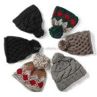 New Arrival Teenagers Beanie Hat With Ear Muff