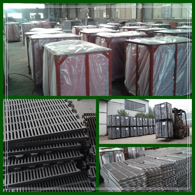 agricultural equipment pig farrowing crate farm machinery spare part 300*600 cast floor raise pig