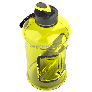 2017 Amazon wholesale BPA free 2.2l Hydrate Drinking petg Large Capacity Sports Water Bottle
