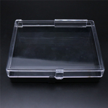 Sonier-pins recycled plastic display box, folding box with sponge