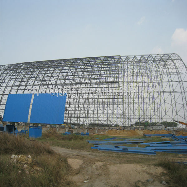 Steel construction prefabricated warehouse