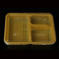 microwavable plastic food lunch box with transparent lid wholesale