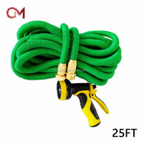 Spary gun Amazon best sellers expandable hose rubber water garden hose pipes