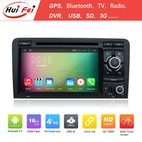 Pure Android 4.4.4 In Car Navigation For Audi A3 2003-2011 Double Din In-dash Car Entertainment