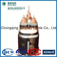 Factory Wholesale 15kv 3x240mm hs code for power cable
