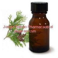 produce factory hot sale cedarwood leaf oil