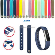 18 Colors Pure Colors Soft Rubber/ Silicone Watch Band Strap For Fitbit Alta, Watch Strap For fitbit Alta Band