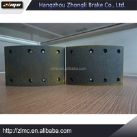 2016 Latest made in China tricycle brake shoe lining
