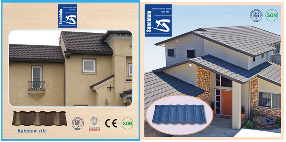 stone coated metal roof tile/economic home roof/linyi roofing materials spanish tile,roofing materials,tiles company