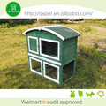 New design deluxe durable outdoor custom rabbit hutch