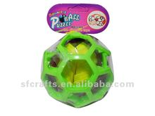 kids bouncing puzzle ball