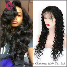 wholesale fashion factory price human hair wigs for black women