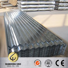 0.23mm full hard Z100 coating galvanized iron metal roofing iron sheets