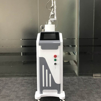 10600nm RF Stationary pixel fractional co2 laser burn scar removal / fractional co2 machine
