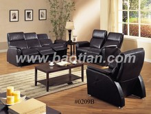Deluxe relax leather reclining furniture sofa chair