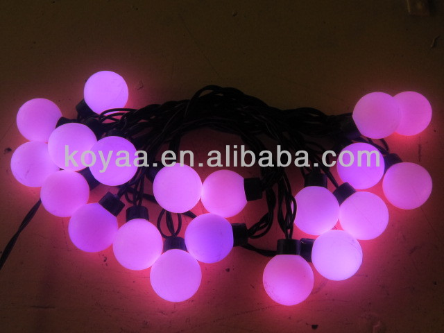 Christmas LED string light AC220/110V holiday lighting