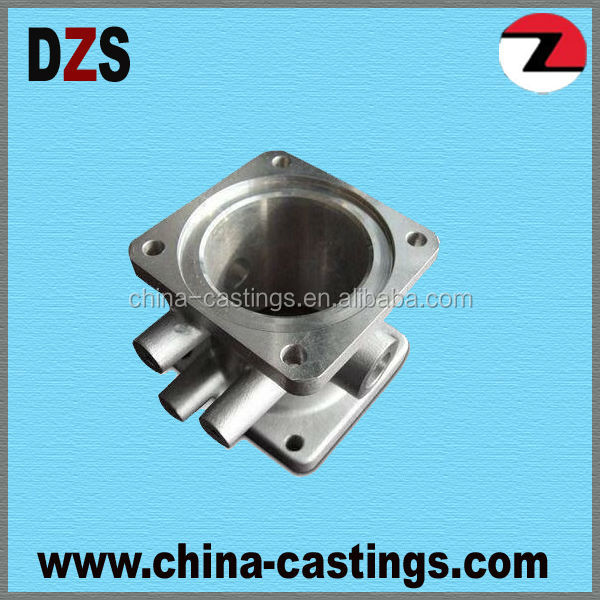 stainless steel vavle part with cnc finishing