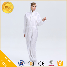 ESD coveralls / antistatic cleanroom suits
