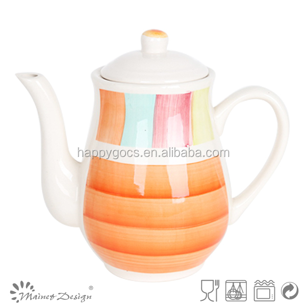 Personalized tea pots for sale,stoneware tea cup pot in one,ceramic coffee & tea pot