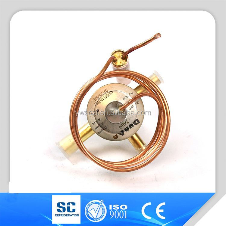 Dunan universal type thermal expansion valve