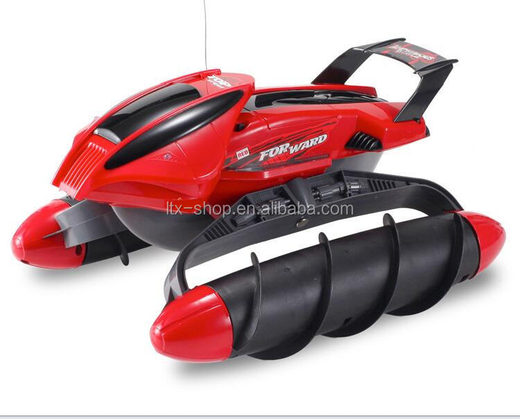 Wholesale Newest amphibious remote control toy car best selling electric propeller children's toys