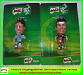 custom tootball player minature figures/custom plastic sports figures/custom pvc football player figures