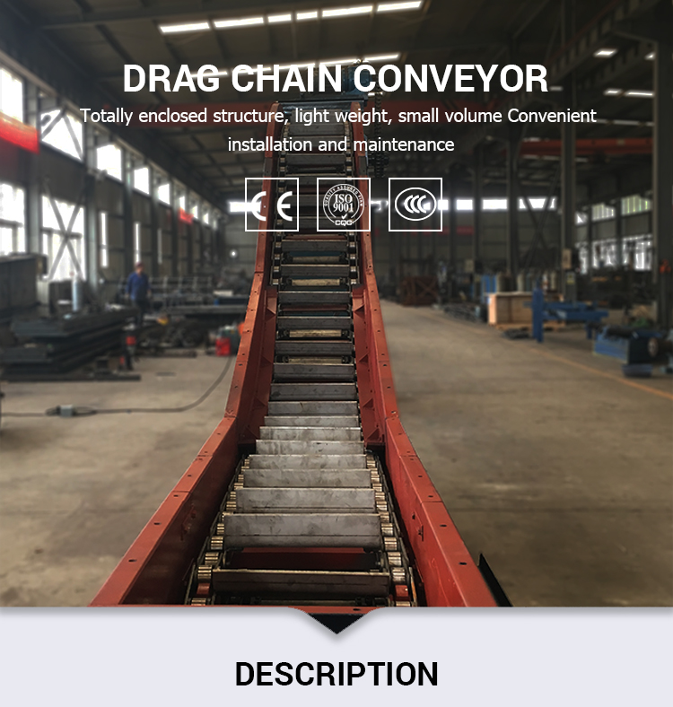 En-Masse Scraper Chain Conveyor Bottom Ash Handling