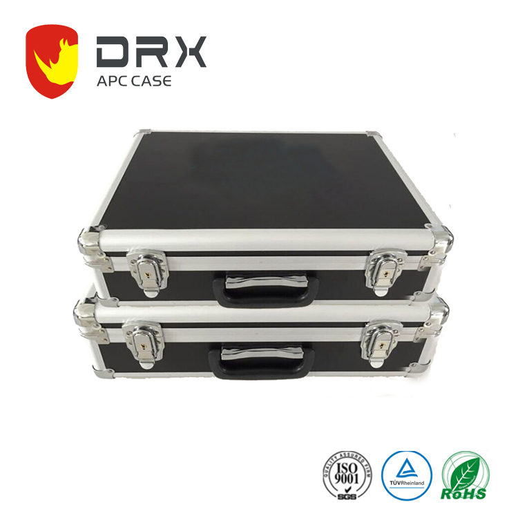 China Manufacturer customized size lockable box Hard Aluminum carrying tool case