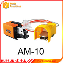 AM-10 crimping terminals and cable end-sleeves pneumatic tool