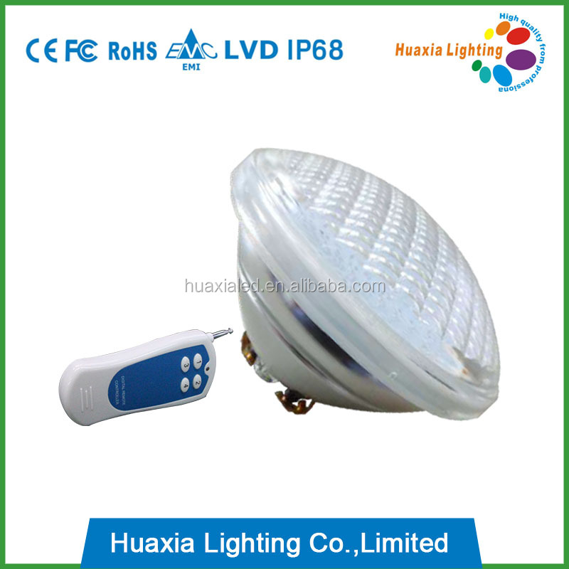 CE ROhs approved PAR56 12v led pool light bulb for swimming pool