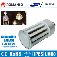 CE RoHS UL cUL Listed 100W LED Corn Bulb Replace HID Metal Halide Lamp