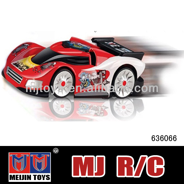 High speed racing 4 ch remote control wall climbing car