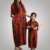 Popular Summer Plus Size Women Fancy Mother And Child Dress For Fat