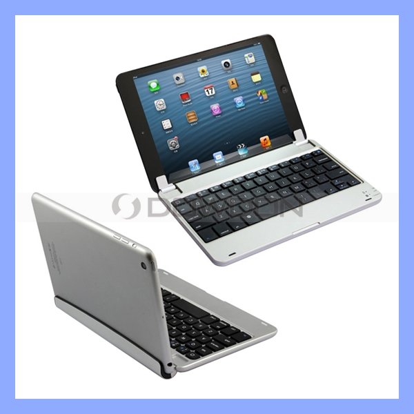 For Apple iPad Mini Keyboard Aluminium Bluetooth 3.0 Wireless Keyboard Case