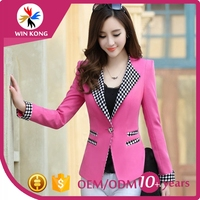 Guangzhou garment Custom made formal business suit for women made in china
