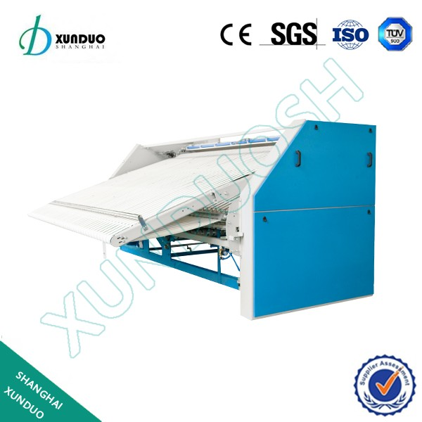 laundry equipment sheets folding machine for hotel