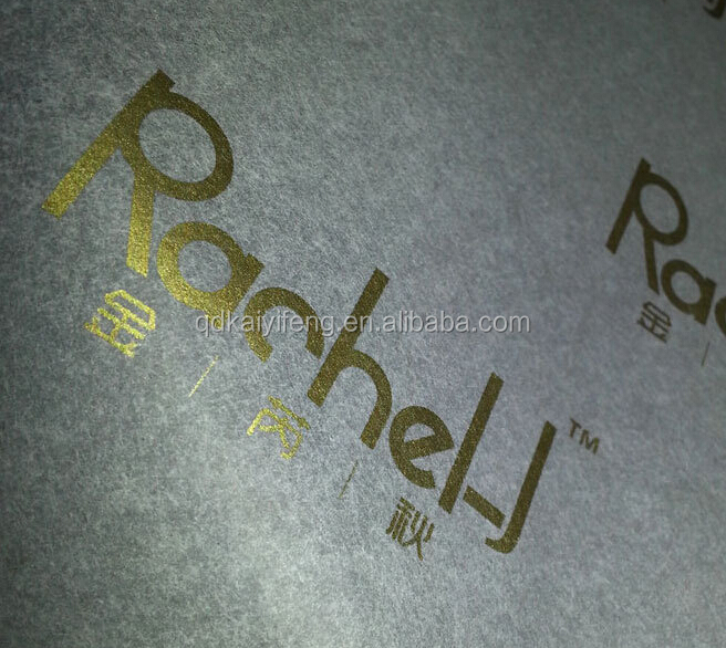 Gold metallic printed packing tissue paper for clothes