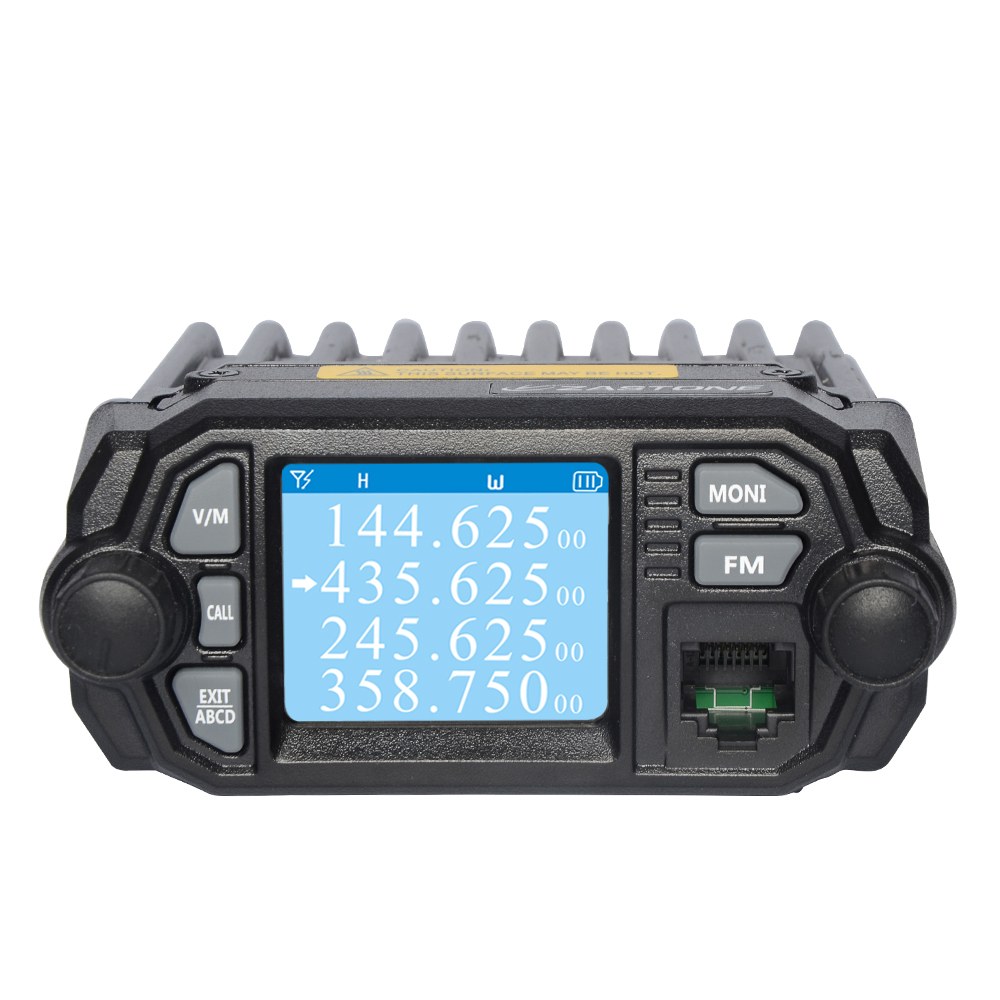 Dual band large screen walkie talkie Zastone MP380 mini <strong>mobile</strong> two way radio