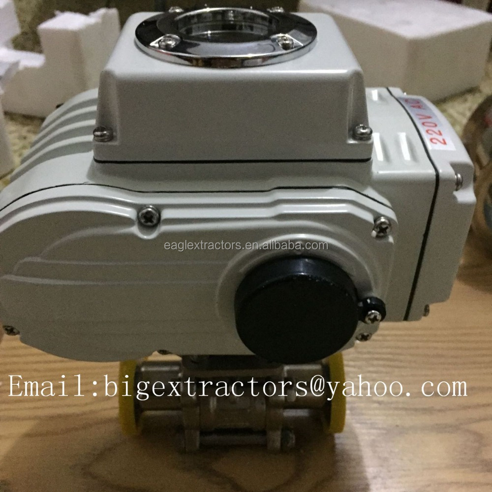 sanitary 24av ss304 electric triclamp ball valve 1/2