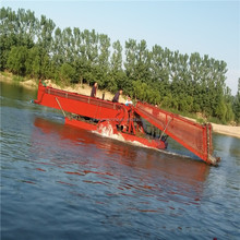 lake/river/lagoon/canal garbage collecting and cleaning machine
