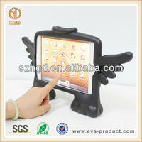 shockproof EVA case Free standing Angel shape for cute ipad mini cover