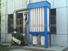 Foundry dust remove solution induction furnace dust collector