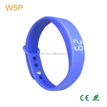 Smart 3d pedometer bracelet colorful silicone fitness activity tracker sport vibration watch for kids