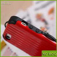 Travel Suitcase Luggage Shape Back Phone Case Cover Skin For iPhone 5 5S