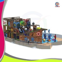 Shanghai Yidong Pirate Ship Used Kids Commercial Mcdonald Indoor Playground Price